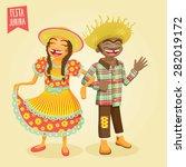 june festival   st. john's... | Shutterstock .eps vector #282019172