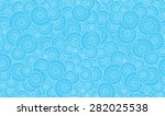 spirals in blue longitudinal...   Shutterstock .eps vector #282025538