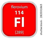 flerovium material on the... | Shutterstock . vector #282031865
