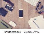 hero header image of office...   Shutterstock . vector #282032942