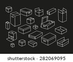 box set. collection with...   Shutterstock .eps vector #282069095