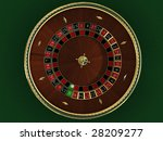 there is a roulette for casino | Shutterstock . vector #28209277