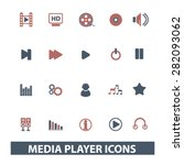 media player  music icons ...