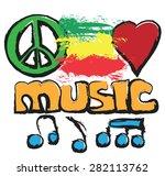 doodle love  music  peace...