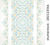 vector ornate seamless border...   Shutterstock .eps vector #282123566