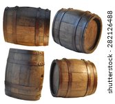 wooden barrel | Shutterstock . vector #282126488
