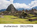 Machu Picchu Citadel View
