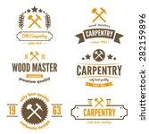 set of logo  labels  badges and ... | Shutterstock .eps vector #282159896