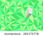 polygon mosaic background... | Shutterstock .eps vector #282175778
