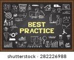 business doodles about best...   Shutterstock .eps vector #282226988