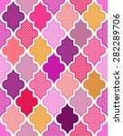 seamless colorful islamic... | Shutterstock .eps vector #282289706