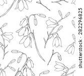 seamless floral vector pattern  ... | Shutterstock .eps vector #282296825