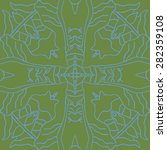 circular  seamless pattern of ...   Shutterstock . vector #282359108