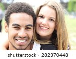 beautiful love couple | Shutterstock . vector #282370448