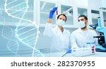science  chemistry  technology  ... | Shutterstock . vector #282370955