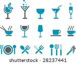 vector icons pack   blue series ... | Shutterstock .eps vector #28237441