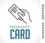 logo   proximity card  ... | Shutterstock .eps vector #282451028