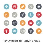 food icon set 2 of 2   ... | Shutterstock .eps vector #282467018