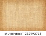 natural sackcloth textured for... | Shutterstock . vector #282493715