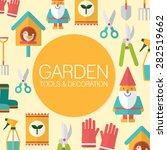 Set Of Gardening Background   02