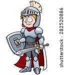 vector illustration of cartoon... | Shutterstock .eps vector #282520886