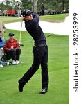 augusta  ga   apr 7  adam scott ... | Shutterstock . vector #28253929