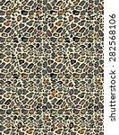 seamless animal print pattern | Shutterstock . vector #282568106