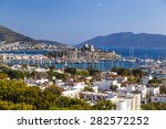 the ancient castle and... | Shutterstock . vector #282572252