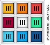 volume control. level icon....   Shutterstock .eps vector #282574232