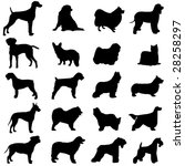 series of world famous dogs | Shutterstock .eps vector #28258297