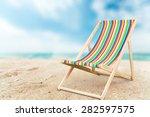 Deckchair  Chair  Beach.