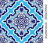 abstract seamless ornamental... | Shutterstock .eps vector #282615962