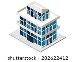 vector illustration of 3d... | Shutterstock .eps vector #282622412