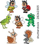animals vector | Shutterstock .eps vector #28262305