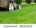 lawn mower | Shutterstock . vector #282623516