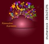 salute  star  crescent  a... | Shutterstock .eps vector #282625196