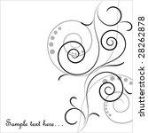 scroll card | Shutterstock .eps vector #28262878