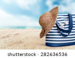 hat  summer  isolated. | Shutterstock . vector #282636536
