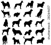 series of world famous dogs | Shutterstock .eps vector #28264657