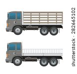 truck farm   Shutterstock .eps vector #282665102