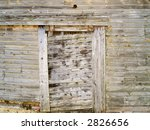 A texture background shot of old weathered wood. - stock photo