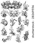 design elements   Shutterstock .eps vector #28269556