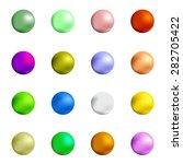 vector colorful sweet gumball... | Shutterstock .eps vector #282705422