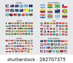 flags of the world set... | Shutterstock .eps vector #282707375