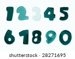 alphabet from a to z and... | Shutterstock . vector #28271695