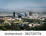 view of los angeles from... | Shutterstock . vector #282720776