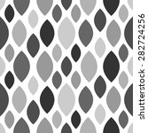 gray vintage seamless pattern... | Shutterstock .eps vector #282724256