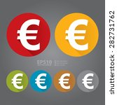 vector   circle euro currency...
