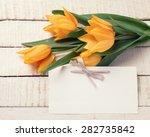 Fresh  Spring Yellow Tulips...