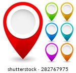 Map Marker  Map Pin Vector. Map ...